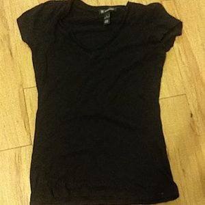 Inc v neck tucked sleeve t s nwot
